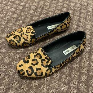 Steve Madden Leopard Loafer Slip-On Shoe